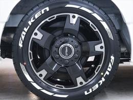 FLEXオリジナルDelf03ホイールにファルケンタイヤを装着!