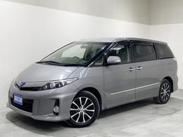 トヨタ エスティマハイブリッド 2.4 アエラス プレミアム エディション 4WD クルコン  電動シート ナビ DVD再生