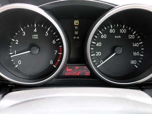 【メーター】現在の走行距離60,439kmでございます。