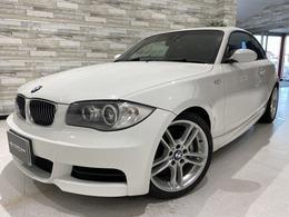 BMW 1シリーズクーペ 135i 6速MT 後期iDriveナビ 赤革ヒーター 禁煙