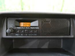【カーオーディオ】インパネにすっきり収まり、とても使いやすいです!ラジオを聴きながら運転をお楽しみいただけます!