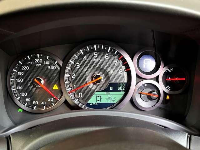 340kmメーターが標準搭載されております。