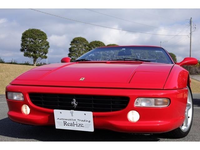 02y 99y最終モデル フェラーリ 355F1スパイダー入庫致しました!!弊社ホームページ、ブログにて一層詳しくお車の紹介を掲載しております!「富士市 リアライズ」で検索してみて下さい!!