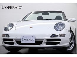 ポルシェ 911カブリオレ カレラ ティプトロニックS 黒革 黒幌 シートヒーター 社外HDDナビ ETC