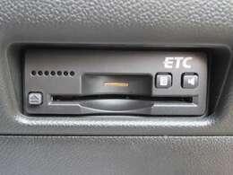 高速道路料金所もストレスフリーのETCも搭載!
