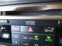 ☆人気メーカーオプションのマークレビンソン装備でドライブが一層楽しくなります♪