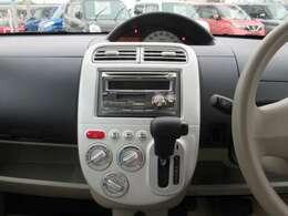 ダッシュインパネオートマですので運転席廻りは広々です