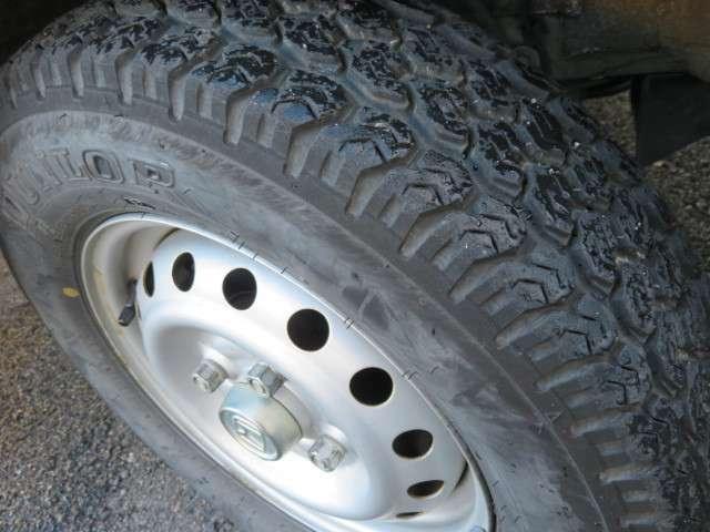 タイヤの溝もしっかり