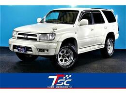 トヨタ ハイラックスサーフ 2.7 SSR-X プレミアムセレクション 4WD 2インチリフトUPハーフレザー木目調パネル