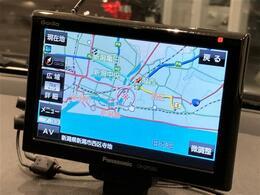 【Panasonicのポータブルナビゲーション付きです!】安心の全車保証付き!その他長期保証もご用意しております!