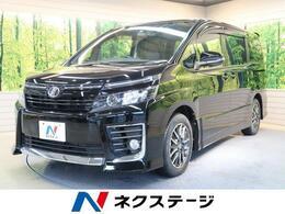トヨタ ヴォクシー 2.0 ZS セカンドリフトアップシート 純正9型ナビ