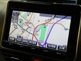 【純正9インチナビ】 BluetoothやフルセグTVの視聴も可能です☆高性能&多機能ナビでドライブも快適ですよ☆