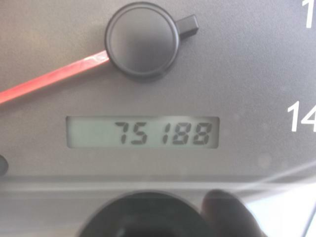 実走75188キロ。