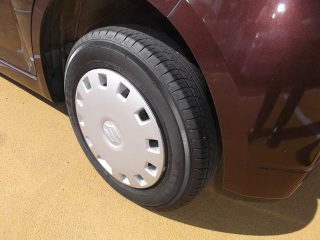 納車前にタイヤローテイションします、安心して乗ってください