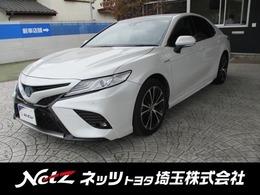 トヨタ カムリ 2.5 WS レザーパッケージ 元社用車 純正JBLナビ