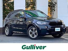 BMW X5 xドライブ 35d Mスポーツ 4WD 7人 全方位 サンルーフ 黒革 衝突軽減B ETC