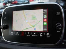 applecarplay『iPhoneを接続すると最新の地図やエンターテイメントがご利用頂けます』
