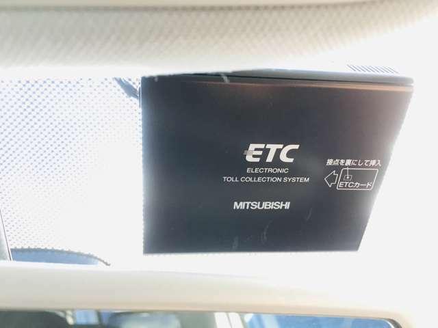 【ETC】高速道路で、楽々走行できます。