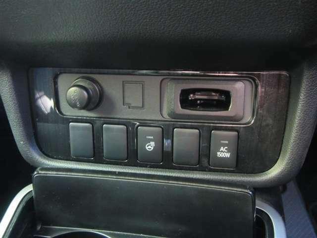 【ステアリングヒーター】ステアリングを直接温めてくれる機能です!寒い日の運転でも指先から温めてくれるのでぽっかぽか!