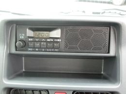 ステレオはラジオのみとなります。