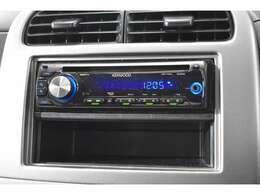 KENWOOD製CDステレオ』装備。お好みのサウンドで楽しくドライブ♪ナビの取り付けもご相談してください♪