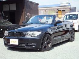 BMW 1シリーズカブリオレ 120i 電動オープン/社外ナビ/バックモニター/ETC