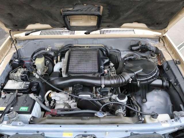 3.0Lディーゼルターボエンジンの心強い相棒になってくれる車輛です!