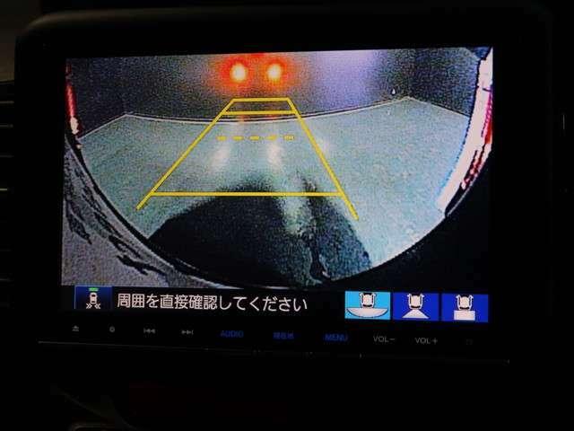 ◆◆バックカメラの画像です。車庫入れの安心感がアップしますね☆