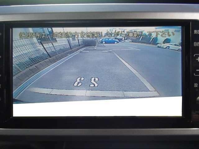 駐車安心のバックカメラ付きです★