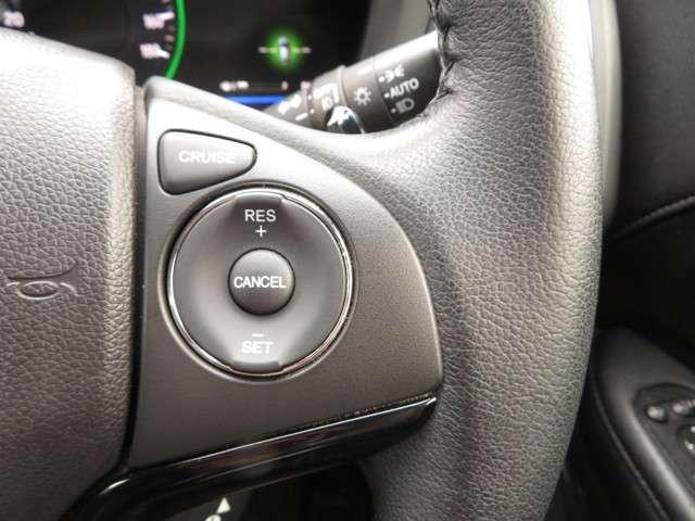 【クルーズコントロール】走行時、設定した速度を自動的にキープし、ロングドライブを快適にサポートし低燃費走行にも貢献☆