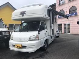 トヨタ ライトエーストラック キャンピング車 グローバルアスリート社製 ナビ バックカメラ ETC