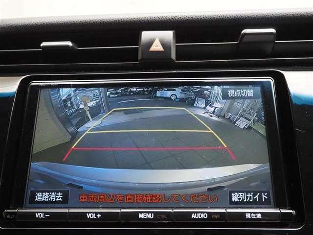 バックカメラがあれば駐車も安心ですね!