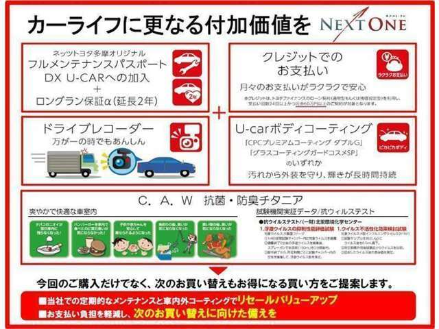 【NEXT ONE】最大8万円のキャッシュバック実施中です。