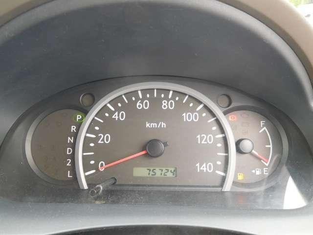 走行75800km!タイミングベルトはチェーン式なので基本交換不要です!