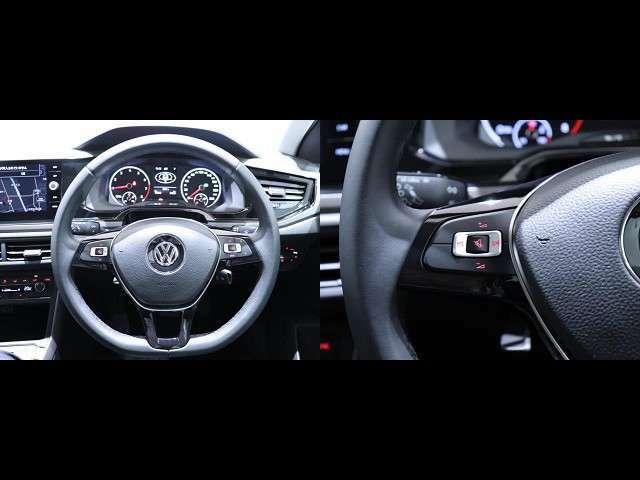 ハンドルは前後、上下で調節することができ、運転される方の好みに合わせて動かすことができます。ハンドルリモコンもついておりますので、運転したままでもオーディオ類を操作できます。
