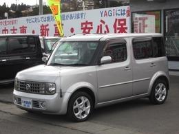 日産 キューブ 1.4 SX 70th-II 4WD ETC キーレス 車検整備付