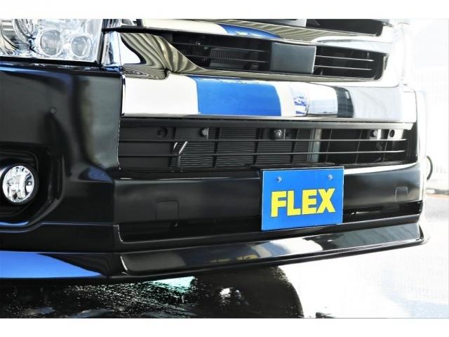 FLEXオリジナルフロントリップ装着済み!デザインと割れにくさを兼ね備えております!