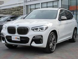 BMW X3 M40d ディーゼルターボ 4WD 黒レザー 21AW ベンチレーションシート
