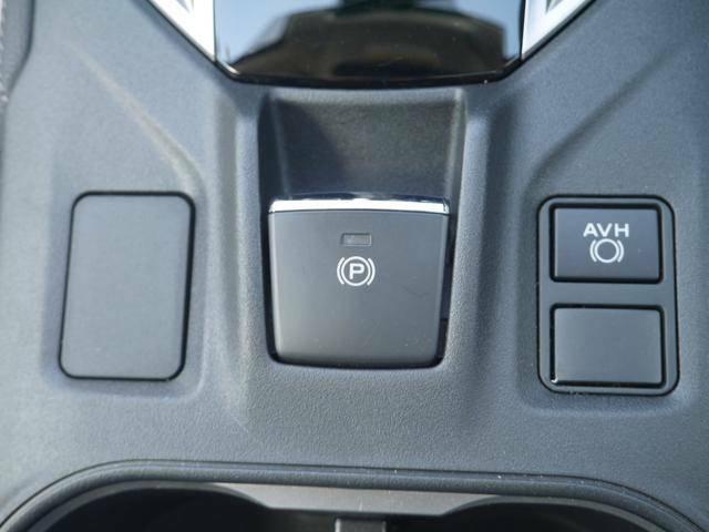 電動パーキングブレーキ、AVHスイッチがまとめられています。