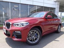 BMW X4 xドライブ30i Mスポーツ 4WD 黒革ウッドPデモカー認定中古車
