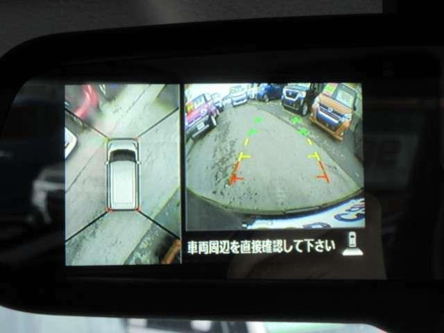駐車が苦手な方にはこれ!アラウンドビューモニター/バックカメラ