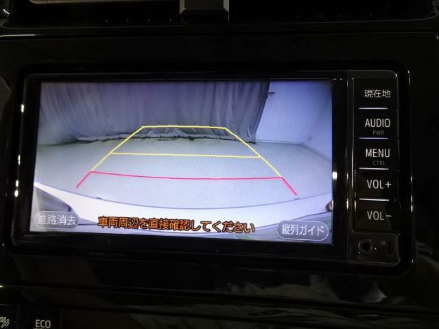 バックカメラを装備しています、車庫入れなどお出掛け先の駐車場でも便利です
