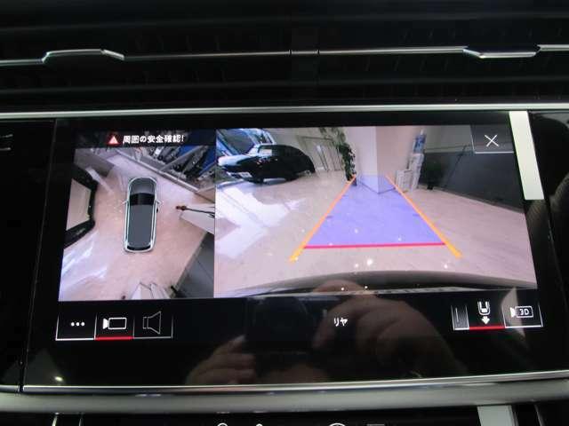 サラウンドビューカメラ、パーキングセンサーで駐車も安全に!