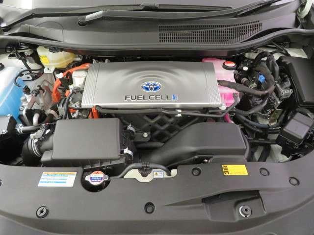 水素燃料電池!排出は水だけ。