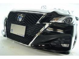 トヨタ クラウンアスリート ハイブリッド 2.5 S 後期 新品ホイール新品タイヤ新品車高調