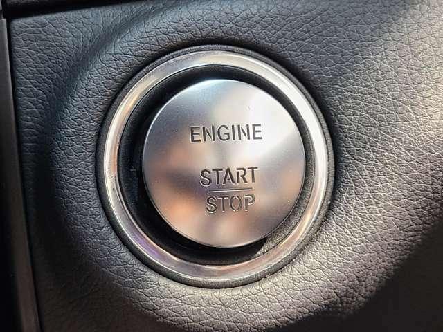 キーレスGOを備えておりますので、キーを挿して回す手間なく簡単にエンジンのスタートとストップが可能でございます。