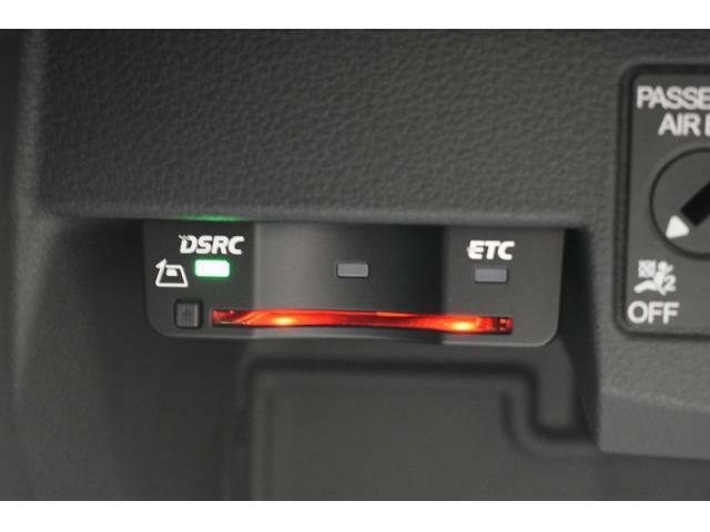 ビルトインETC車載器『料金所での時間短縮に役立つ装備!!