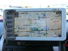 ナビはSONY製のHDDポータブルナビNV-XYZ33です。