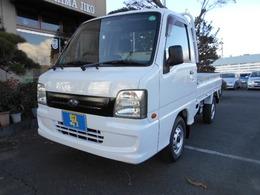 スバル サンバートラック 660 TC 三方開 4WD ワンオ-ナ-4WDオートマタイヤ新品
