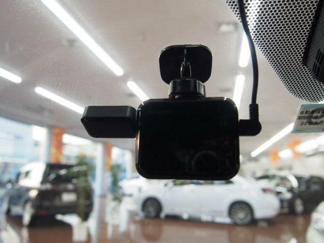 安心のドライブレコーダー装備